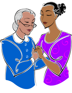 mother-and-daughter-clipart